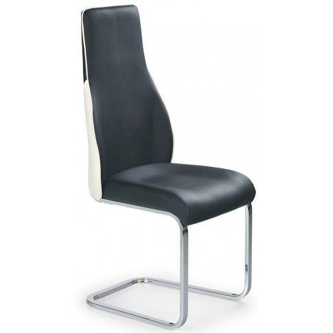 Zdjęcie produktu Krzesło metalowe Treor - czarne.
