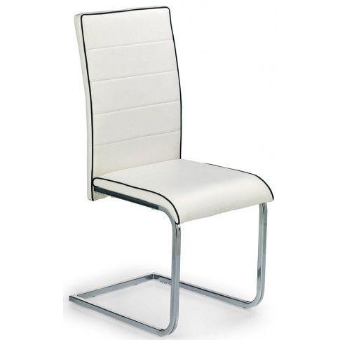 Zdjęcie produktu Krzesło metalowe Migen - białe.