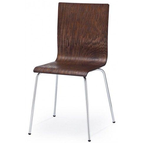 Zdjęcie produktu Krzesło metalowe Kilmer - wenge.