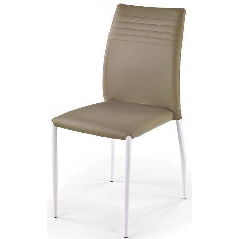 Zdjęcie produktu Krzesło metalowe Lenton - ciemny beż.