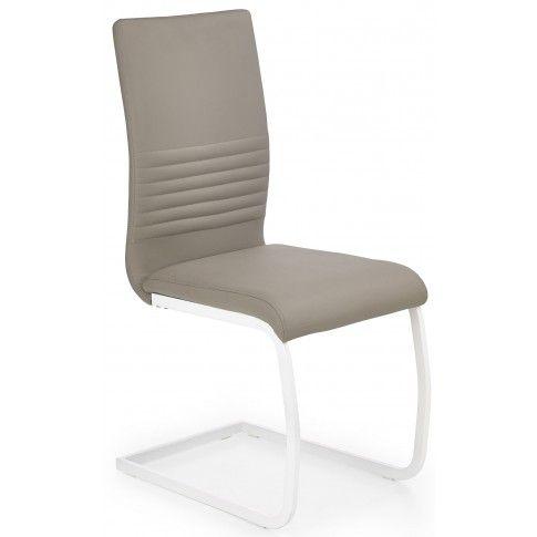 Zdjęcie produktu Krzesło metalowe Zeppen - cappuccino.