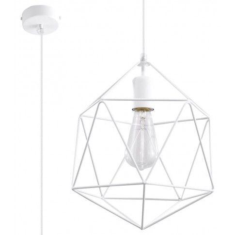 Zdjęcie produktu Industrialna lampa wisząca E840-Gaspari - biały.