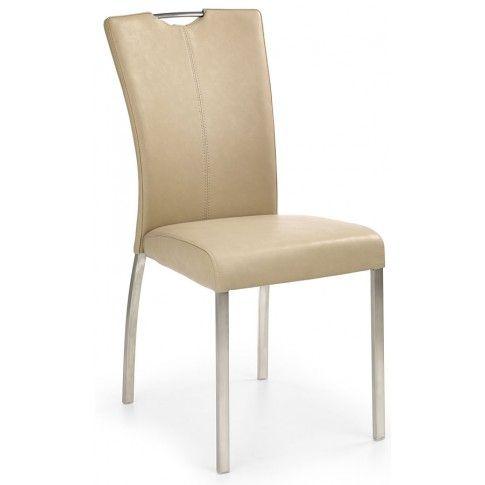Zdjęcie produktu Krzesło metalowe Defiks - beżowe.