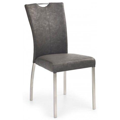 Zdjęcie produktu Krzesło metalowe Defiks - popielate.