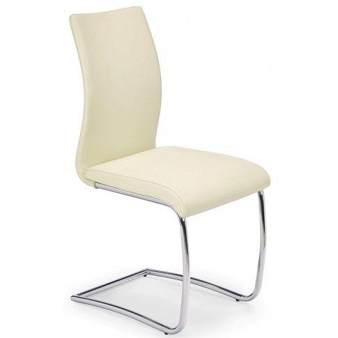 Zdjęcie produktu Krzesło metalowe Avner - kremowe.