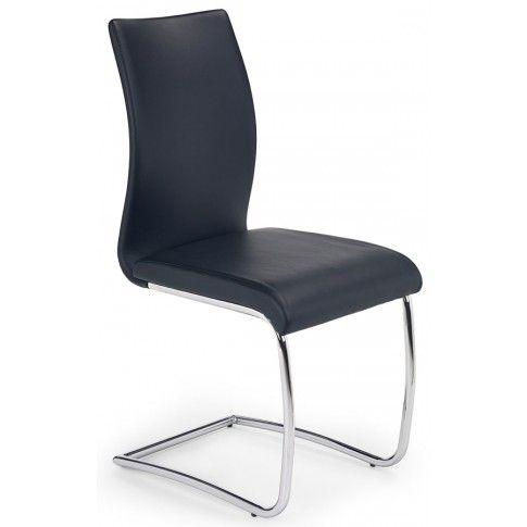 Zdjęcie produktu Krzesło metalowe Avner - czarne.