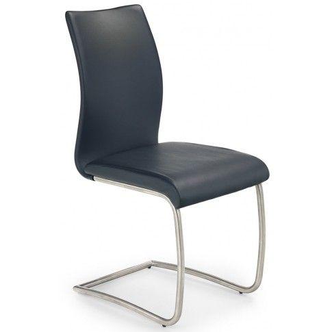 Zdjęcie produktu Krzesło metalowe Ofler - czarne.