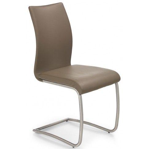 Zdjęcie produktu Krzesło metalowe Ofler - jasny brąz.