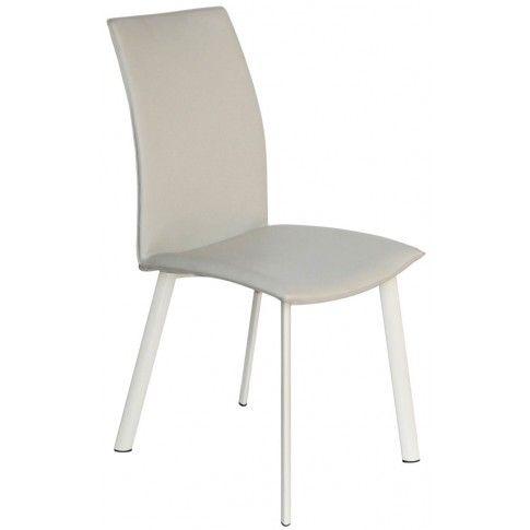 Zdjęcie produktu Krzesło metalowe Diskin - beżowe.
