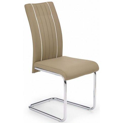 Zdjęcie produktu Krzesło metalowe Skarmer - beżowe.