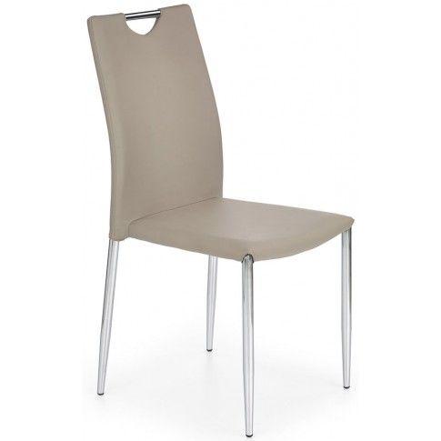 Zdjęcie produktu Krzesło tapicerowane Amols - cappuccino.
