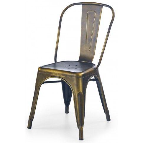 Zdjęcie produktu Industrialne krzesło Simon - yellow cooper.