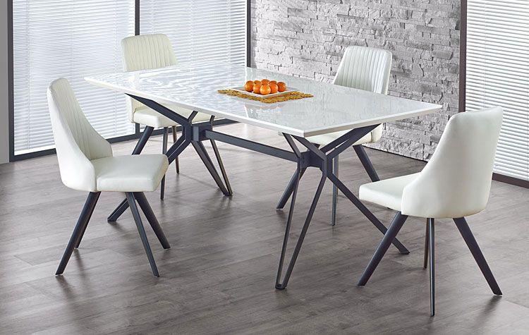 Białe krzesło w nowoczesnym stylu Vimes