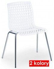 Krzesło metalowe William - 2 kolory