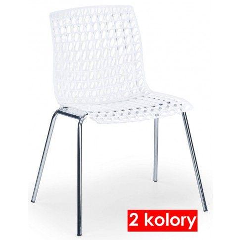 Zdjęcie produktu Krzesło metalowe William - czarne.