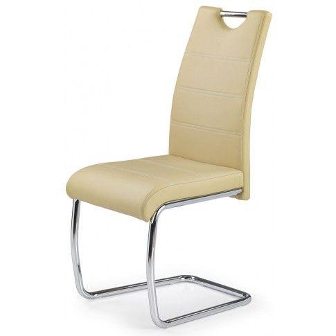 Zdjęcie produktu Krzesło tapicerowane Elrond - beżowe.