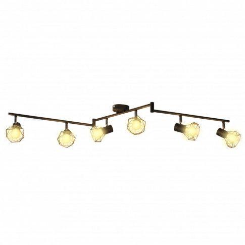 Zdjęcie produktu Loftowa lampa sufitowa LED obracana - EX15-Toni.