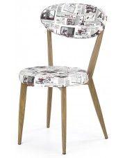 Alternatywne krzesło Felmer - białe w sklepie Edinos.pl