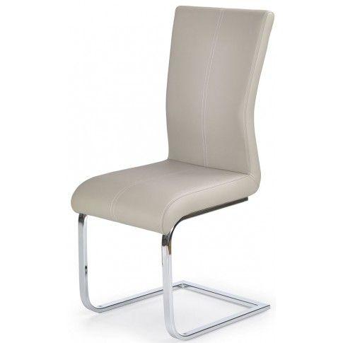 Zdjęcie produktu Krzesło tapicerowane Aspen - cappuccino.