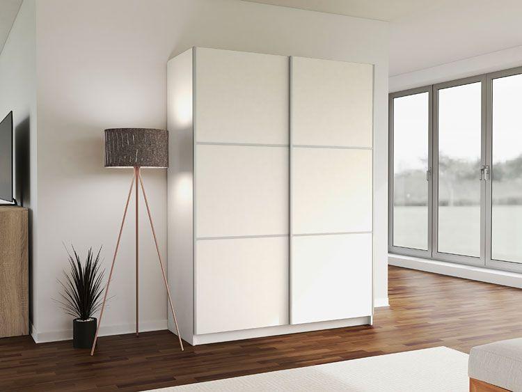 Biała szafa do sypialni, przedpokoju, biura Kora