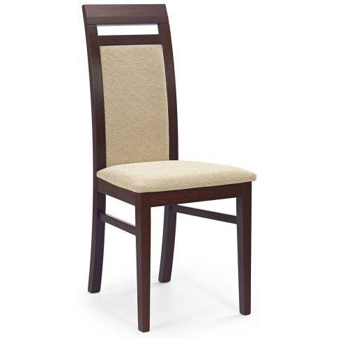 Zdjęcie produktu Krzesło drewniane Tolen - ciemny orzech.