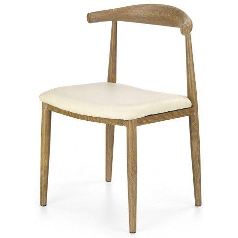 Zdjęcie produktu Krzesło tapicerowane Klimer - kremowe.