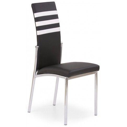 Zdjęcie produktu Tapicerowane krzesło Virris - czarne.