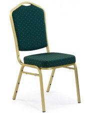 Ozdobne krzesło Abrax - zielone