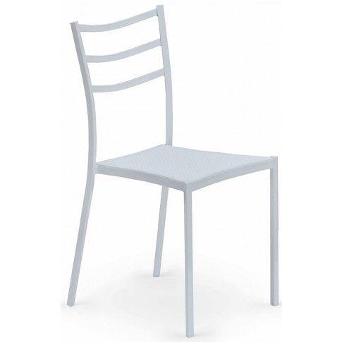 Zdjęcie produktu Krzesło metalowe Midler - białe.