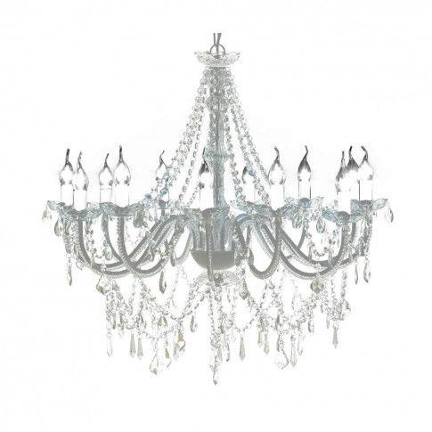 Kryształowy żyrandol świecznikowy EX151-Telso