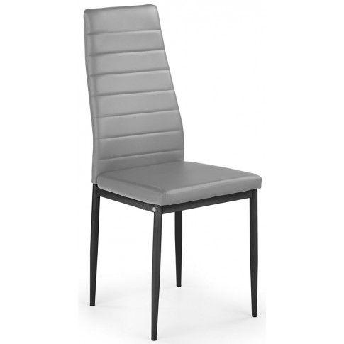 Zdjęcie produktu Tapicerowane krzesło Dikon - popielate.