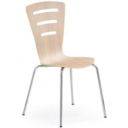 Zdjęcie produktu Profilowane krzesło Sator - dąb sonoma.