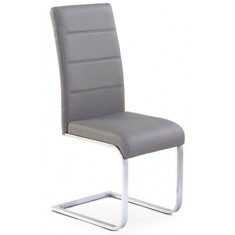 Zdjęcie produktu Tapicerowane krzesło Nivor - popielate.