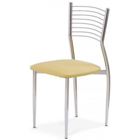 Zdjęcie produktu Profilowane krzesło Hider - beżowe.