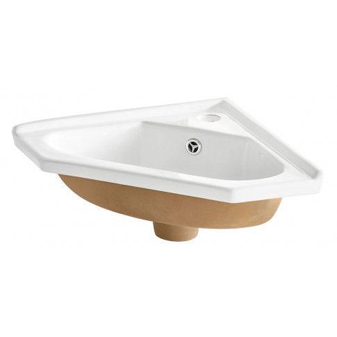 Umywalka ceramiczna narożna Tamis