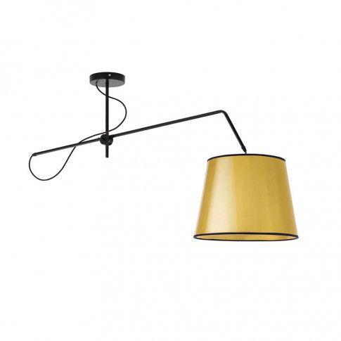 Złota lampa wisząca z regulacją EX231-Oviedis