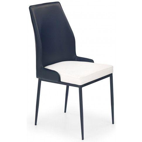 Zdjęcie produktu Krzesło metalowe Orion - czarne.
