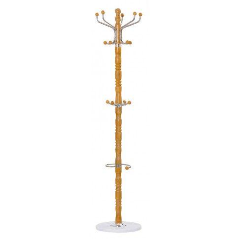 Zdjęcie produktu Drewniany wieszak stojący Geran 4X - olcha.