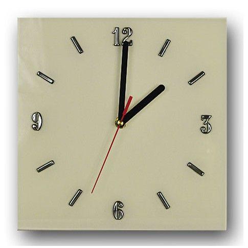 Zdjęcie produktu Szklany zegar ścienny Liptos 8R - 5 kolorów.