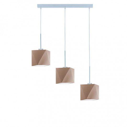 Lampa wisząca nad stół z trzema abażurami EX285-Michigar