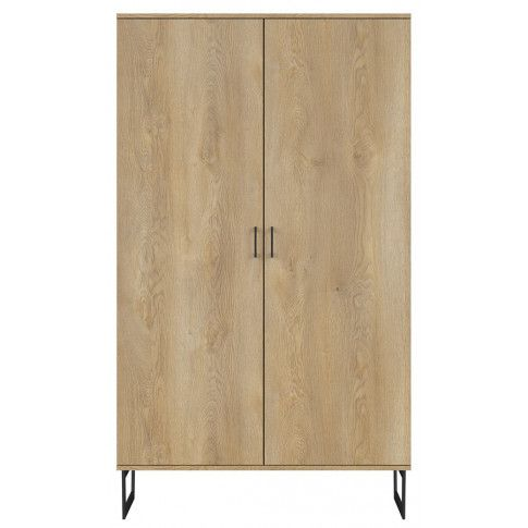 Loftowa szafa z drewna dębowego Bahama 9X