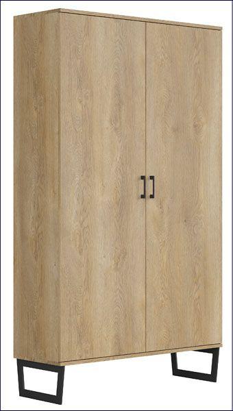 Loftowa szafa z 10 półkami Bahama 9X