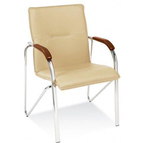 Zdjęcie produktu Fotel biurowy Gardis - beżowy.