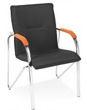 Fotel biurowy Gardis - czarny