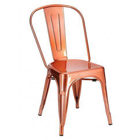 Krzesło miedziane Keby stylowe