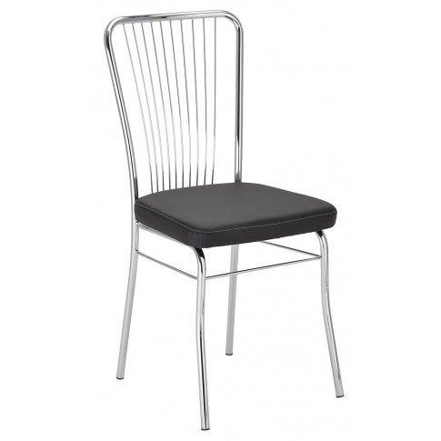 Zdjęcie produktu Krzesło metalowe Neris - czarne.