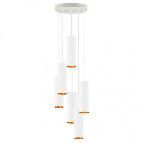 Regulowana lampa wisząca z 6 zwisami w stylu glamour EX341-Monakes
