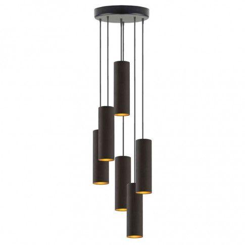 Lampa wisząca glamour EX342-Monakes z podłużnymi kloszami