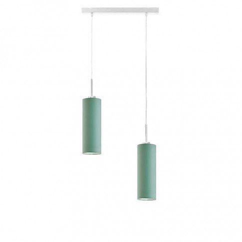 Podwójna lampa wisząca na listwie nad stół EX364-Maderix