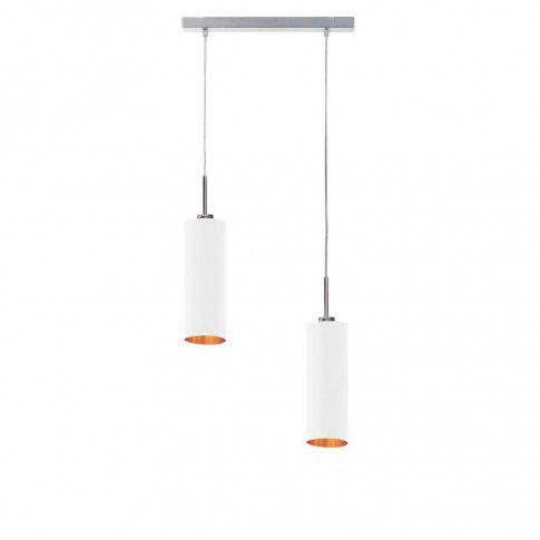 Lampa wisząca glamour EX373-Madero z dwoma kloszami